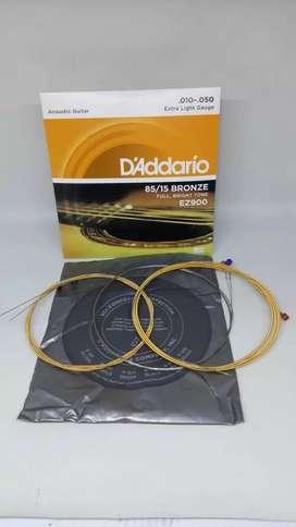 D'Addario EZ900 senar gitar akustik 010