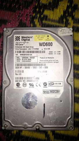 WD Hard Drive 60Gb