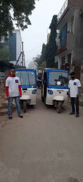 E riksha driver required