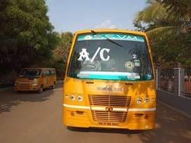 school bus tata A/c 42 seats
