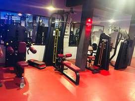 Gym full new setup manufacturer nd importer also