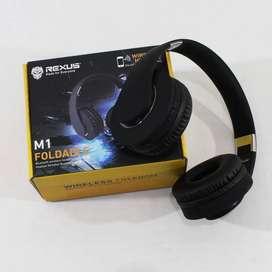 Rexus M1 Wireless Headset Gaming Bluetooth Headphone+microSD+FM Radio