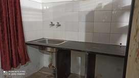 1 BHK semi furnished 2nd floor house available for rent