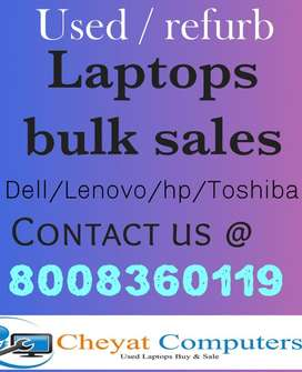 Slim used / refurb laptops available at best price : Cheyat computers