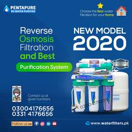 5 Stages PentaPure RO Plant - Best water filter for Home