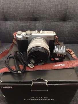 Fujifilm XA-5 Silver Black fullset