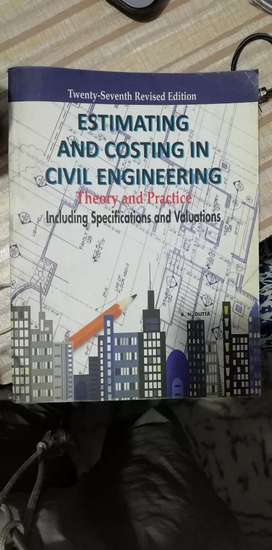 Estimate and costing in civil-engineering