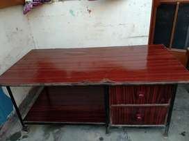 Multipurpose table with 2 drawers for sale