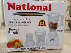 National Blender with Grinder