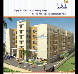 2 BHK with separate drawing room.