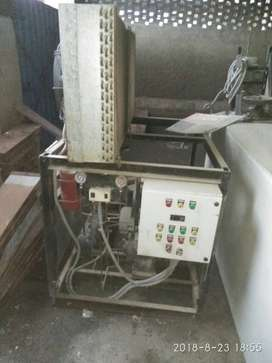 ice block or candy plant with production of 1.2 ton per day with mould