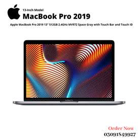 """Apple MacBook Pro 2019 13"""" 512GB 2.4GHz MV972 with Touch Bar/ID Gray"""