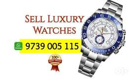 Sell Rolex Submariner, Daytona AP RM Omega Luxury Watch Buyers India.
