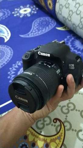 Canon eos 700D Kit mulus 100% jual cepet