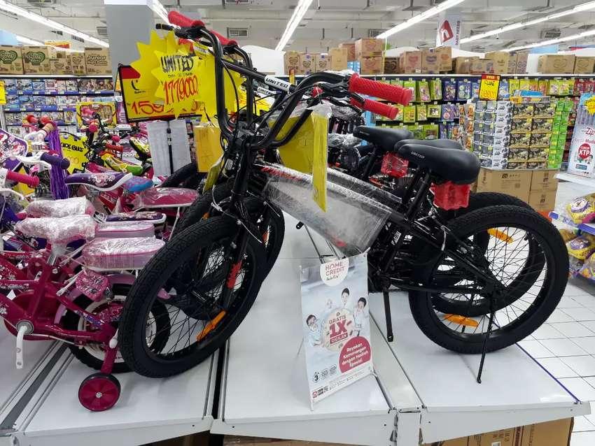 Sepeda United BMX 20 Bisa Cash dan Kredit 0