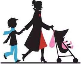 Dicari ART/semi baby sitter