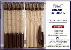 Curtains and blinds for home and office by Grand interiors