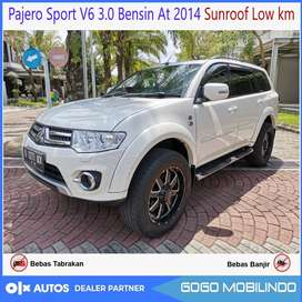 Pajero Sport Mesin V6 AT 2015 Awal Sunroof Low KM