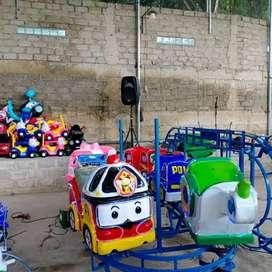 DOV waterboom mainan odong kereta panggung campuran mobil dan truk
