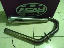 Knalpot  AsayExhaust Racing custom full system