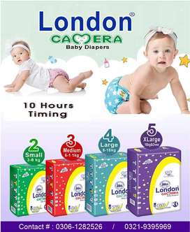 London Camera Baby Diapers (Pampers)