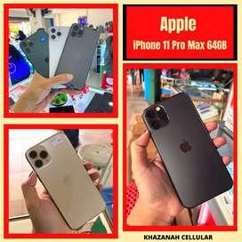READY !! SECOND IPHONE 11 PRO MAX 64 GB EKS INTER