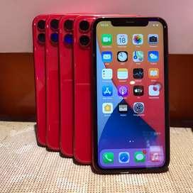 Iphone 11 128 gb red second original