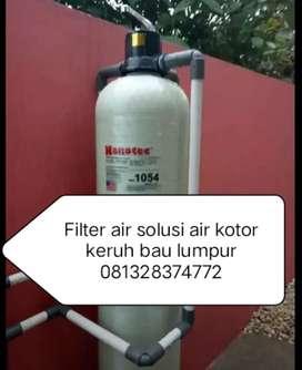 Filter air penjernih air kotor Keruh bwu lumpur