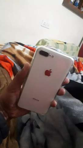 Iphone 8+ as new 256 gb white