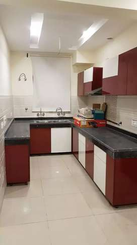 Almost new flat avlable on rent in dhakoli fully furnished