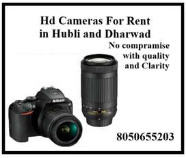 HD CAMERAS FOR RENT