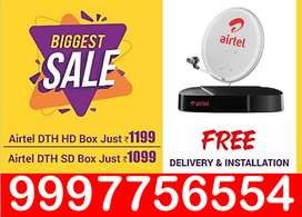 Airtel Digital Tv New HD/SD Connection 89% Off  Airteltv Sd Connection
