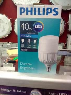 Lampu philips terbaru led 40 watt putih