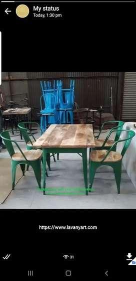 Wooden sheesham charpai restaurant hotel daba cafe furniture