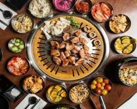 Oper kontrak restaurant grill dan shabu shabu