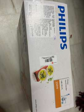 Philips electronic hand blender and chopper