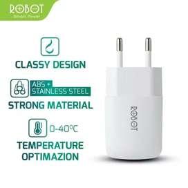ROBOT RT-K2 Single USB Charger Garansi resmi 1 tahun