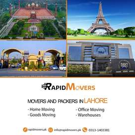 Movers and Packers Lahore - Rapidmovers.pk