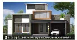 2bhk brand new house in kukikatte