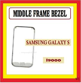 Bazel Bezel Middle Tulang tengah SAMSUNG I9000 Galaxy S1 Original
