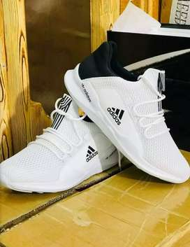Addidas sports shoes.