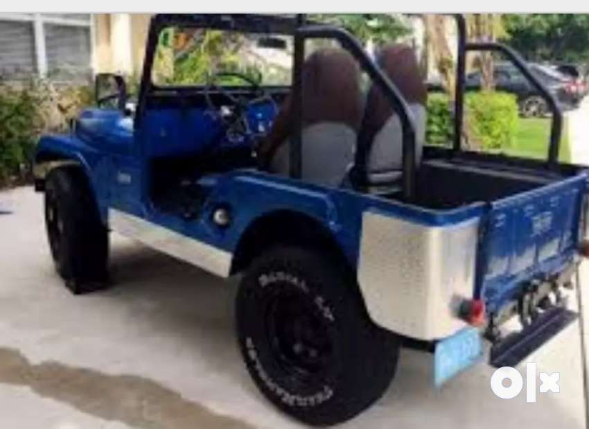 Willys jeep with rebuilt engine 0