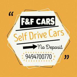 Self drive cars available.. no security deposit