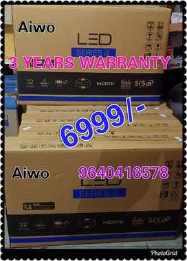 """SPARKLING DEEWALI OFFER Aiwo 32"""" fhd Pro Ledtv 3 years warranty"""