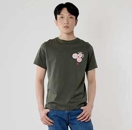 Edwin Unisex 3.0 Limited Edition T shirt Pachinco - Olive - Hijau - M