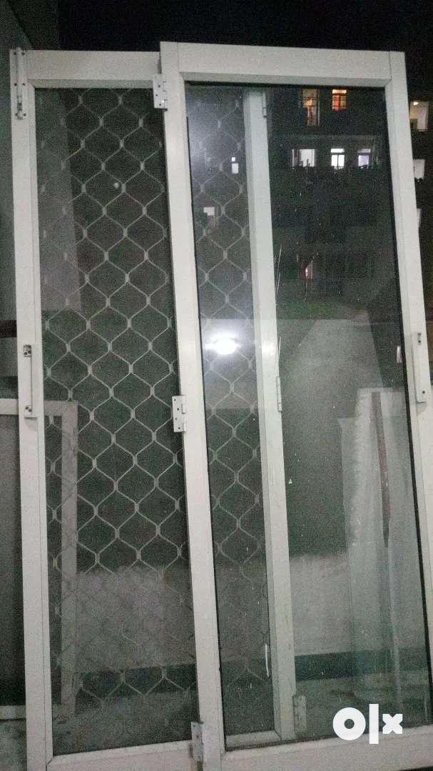 Glass and Net door 8 foot 0