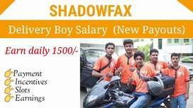 Bast food delivery job for part time  full time