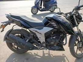 5 year bima 7 month old apache 160 sold bike abs