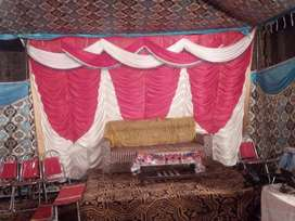 Running Tent Service buisness for sale at Girja road Rwp