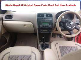 Skoda Rapid All Original Spare Parts Used And New Available.
